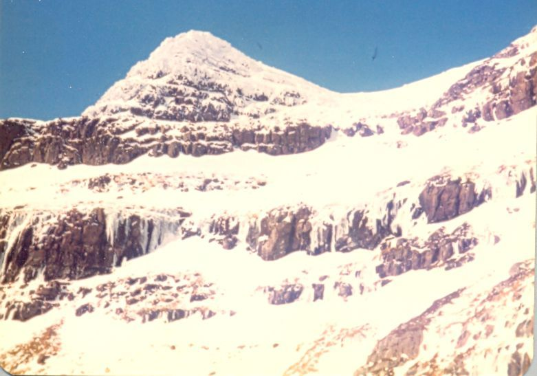 Winter ascent of Liathach in the Torridon Region of the NW Highlands of Scotland