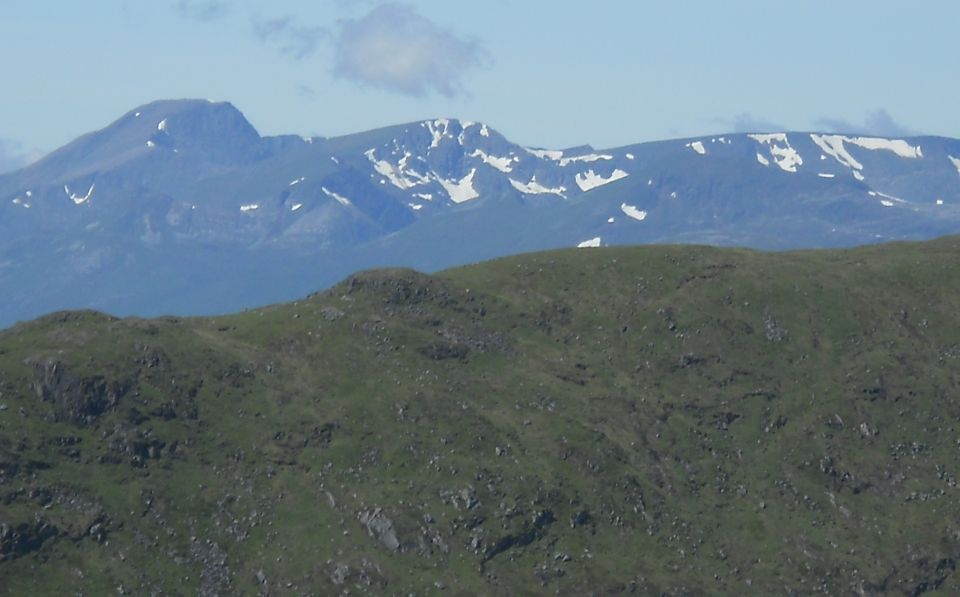 Ben Nevis from Meall na Meoig
