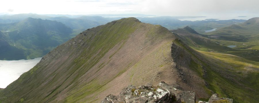 View from Sgurr Fiona on An Teallach