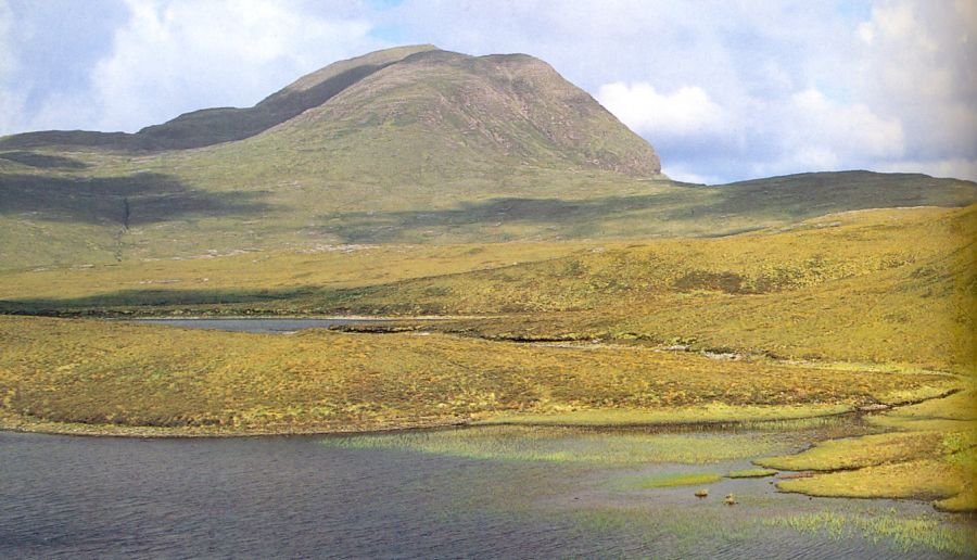 Cul Beag in Wester Ross in the NW Highlands of Scotland