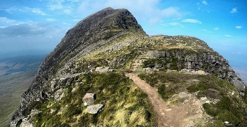 Suilven in the NW Highlands of Scotland