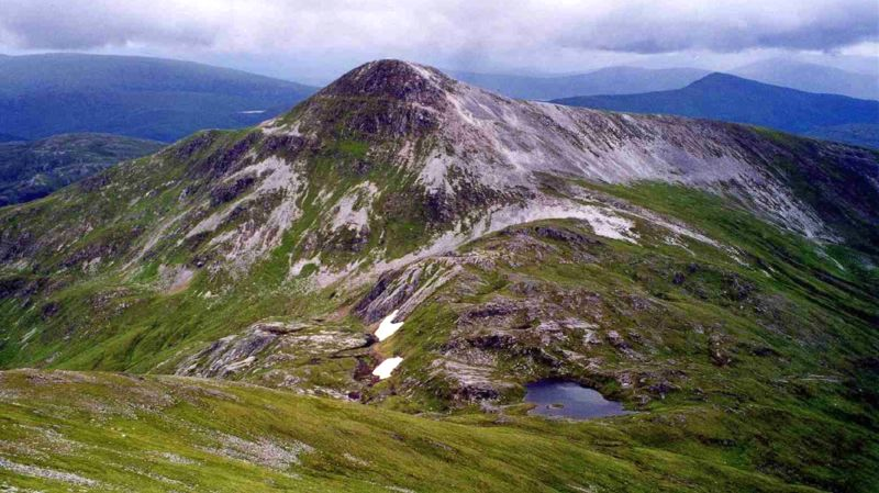 Stob Ban in the The Grey Corries from Stob Choire Claurigh