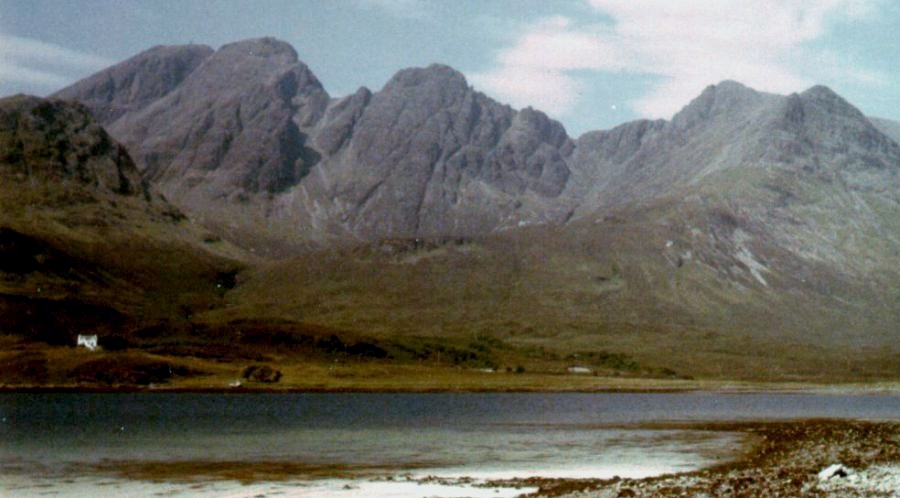 Photo Gallery of Ridge Walking on the Cuillin Hills of the Isle of Skye