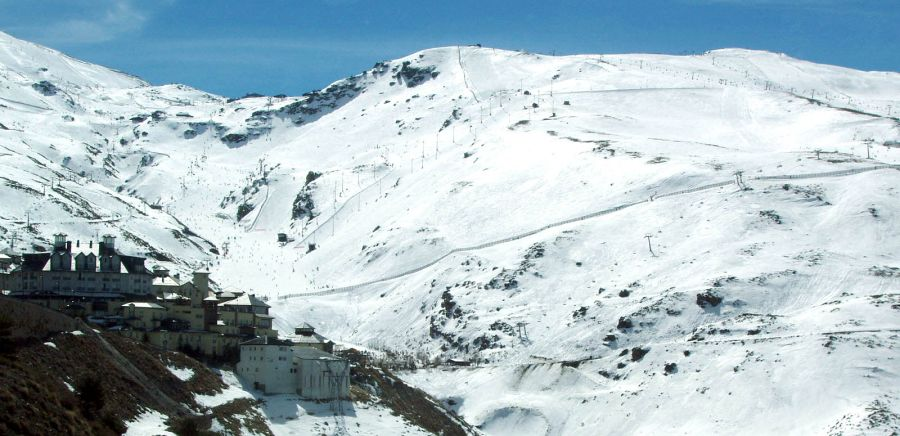 Solynieve Ski Centre in the Sierra Nevada in Southern Spain