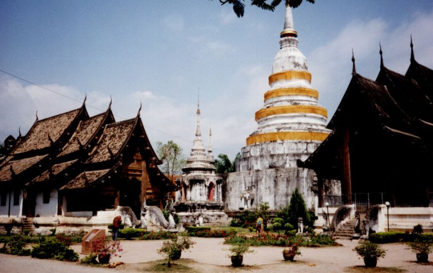 Temple complex in Chiang Mai