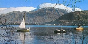 Ben Nevis - highest mountain in Scotland and UK ( Great Britain )