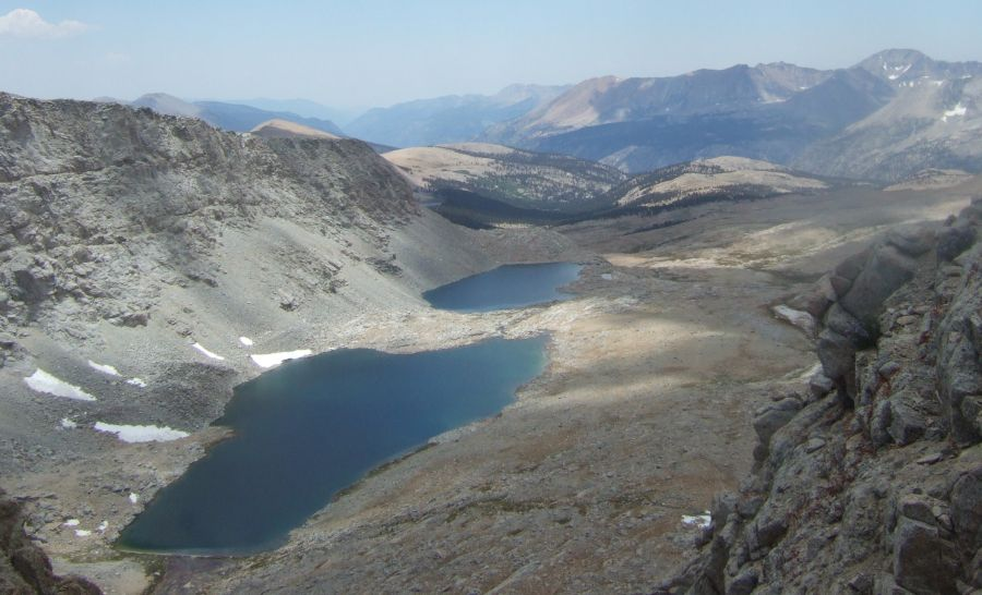 Pacific Crest Trail - Forester Pass in the Sierra Nevada