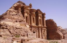 Ancient City of Petra in Jordan