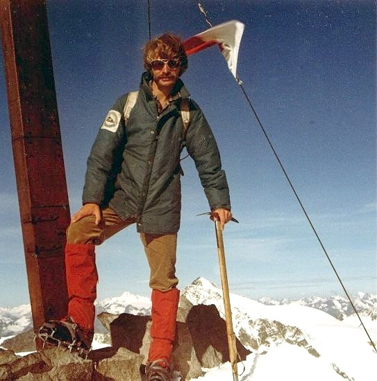 Summit of Wilder Freiger in the Austrian Tyrol