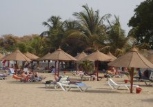Banjul Beach in The Gambia, West Africa