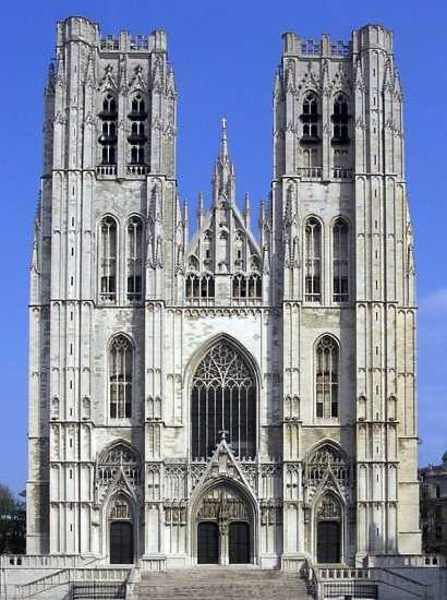 St.Michael & Gudula Cathedral in Brussels