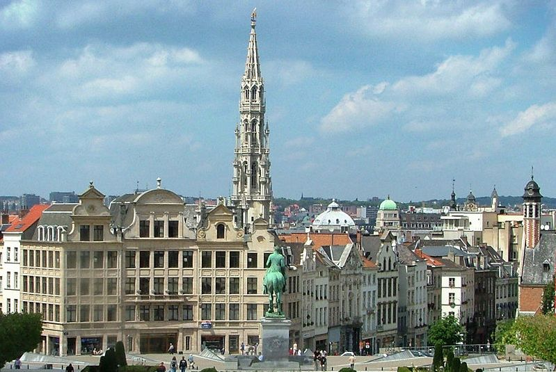 Old City in Brussels