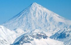 Damavand - highest mountain in Iran
