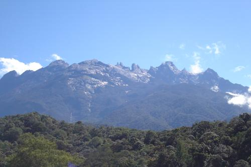 Mount Kinabalu from Park HQ