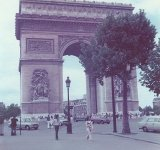 Arc de Triumphe in Paris, capital city of France