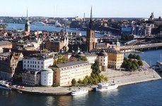 Stockholm - capital city of Sweden