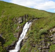 Grey Mare's Tail in the Borders of Scotland