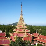 Mandalay in Myanmar / Burma