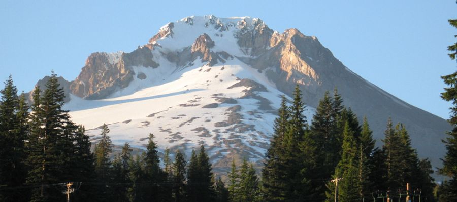 Mount Hood - Highest mountain in Oregon, USA