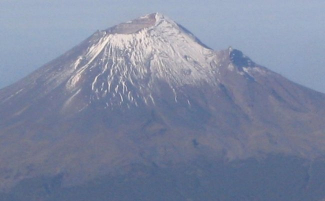 Popocatapetl - 5452 metres - second highest mountain in Mexico