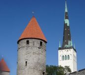 Tallinn - capital city of Estonia