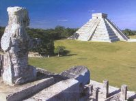 Kulkulkan Pyramid, Warrior Temple, Yucatan, Mexico