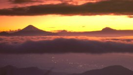 Sunrise on Cotopaxi in Ecuador