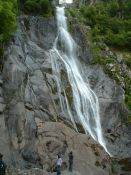 Aber Falls in the Carneddau of Wales