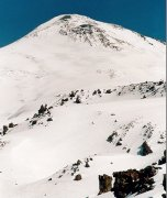 Mount Elbrus in Russia - highest summit in Europe