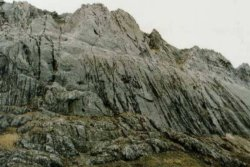 Carstensz Pyramid in Irian Java / Indonesia - highest summit in Australasia / Oceania