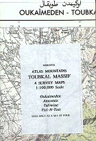 Atlas Mountains - Toubkal Massif - 4 map set