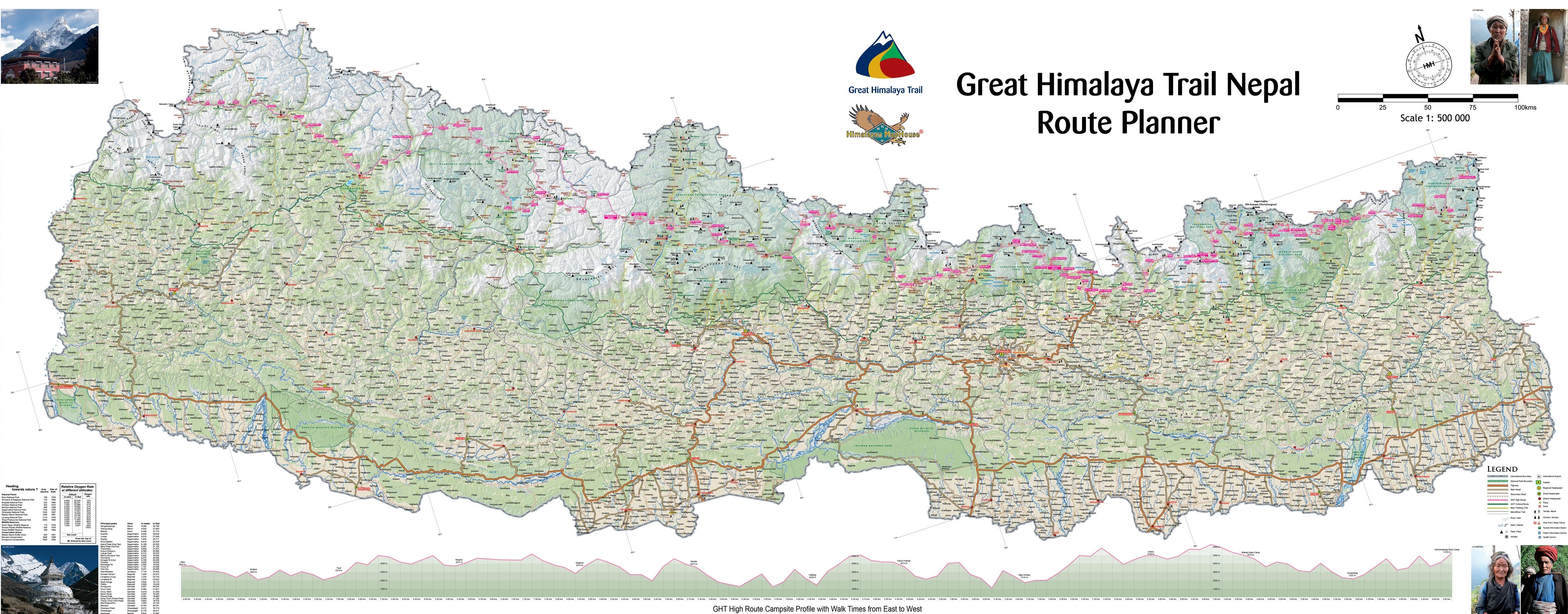 Map of East Nepal