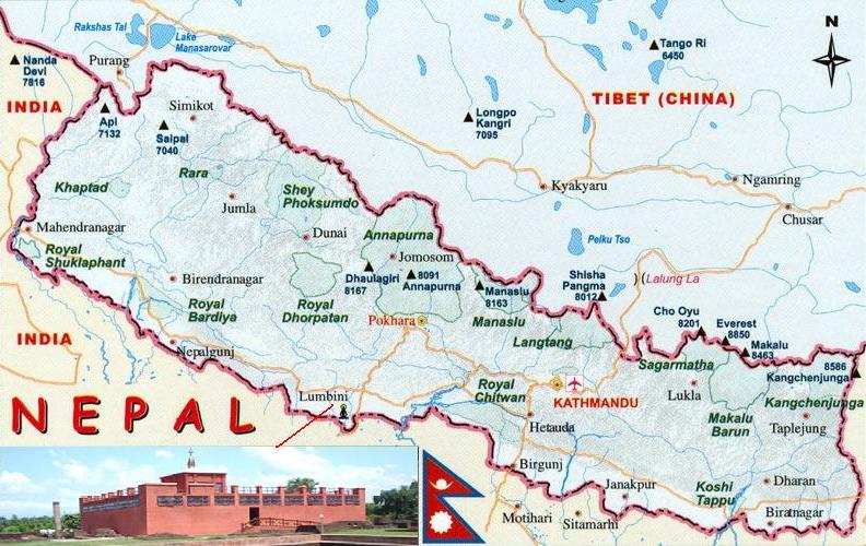 Maps of Nepal