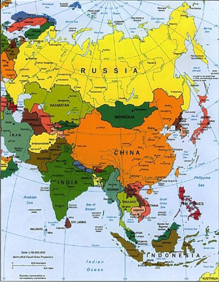 South East Asia Map - China :: Thailand :: Malaysia :: Vietnam ...