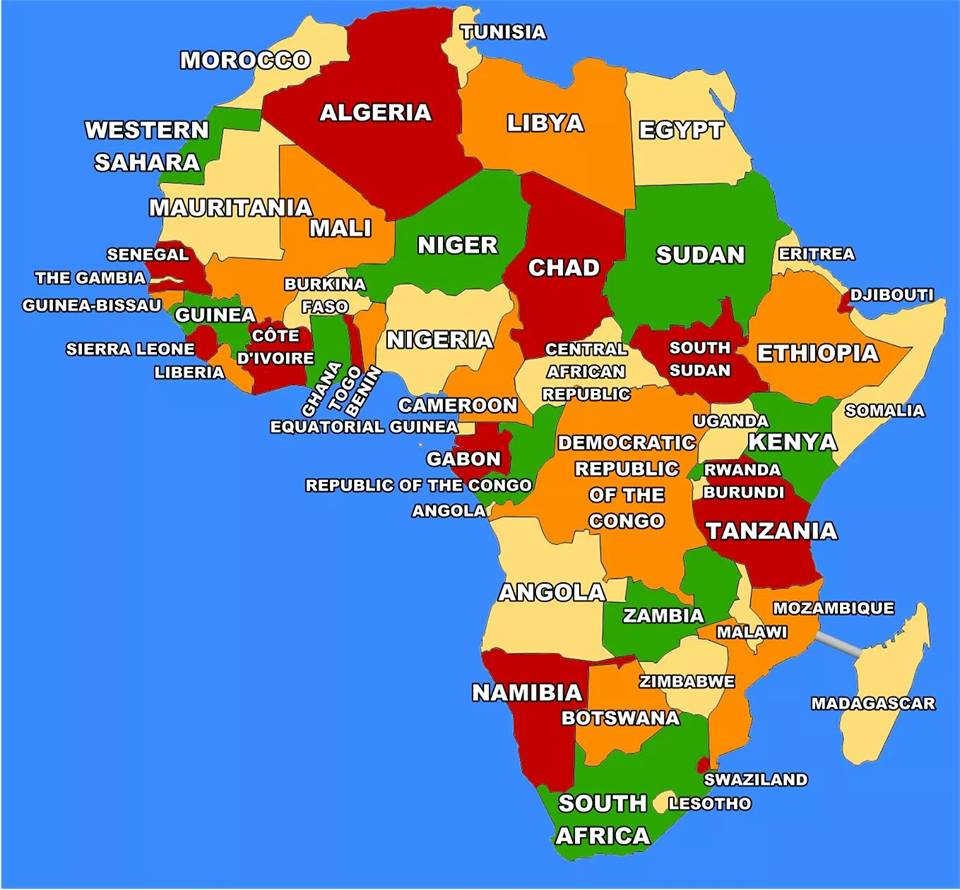 Maps of Africa - political, countries, flags Map Of African Countries on map of the world, map of italy, map of asia, map countries labeled, map poverty in africa 2013, map of africa, south america, world map with countries, map of kenya, map of israel, african people, north america, united states of america, map of egypt, map of australia, africa map countries, south africa countries, map of middle east, map of europe, european countries, map of nigeria, middle east, map of spain, map of indonesia,