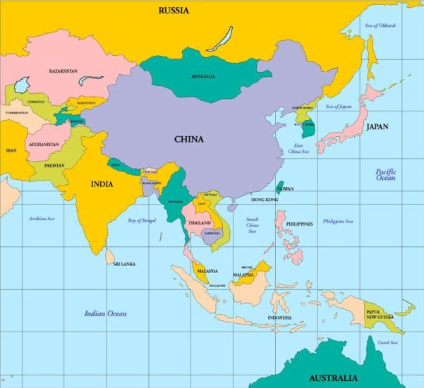 malaysia and china map South East Asia Map China Thailand Malaysia Vietnam Laos Cambodia Myanmar Burma Singapore Sumatra malaysia and china map
