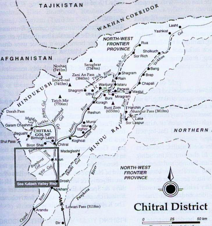 Hindu Kush On Map Maps of the Hindu Kush Region in Pakistan and Afghanistan Hindu Kush On Map