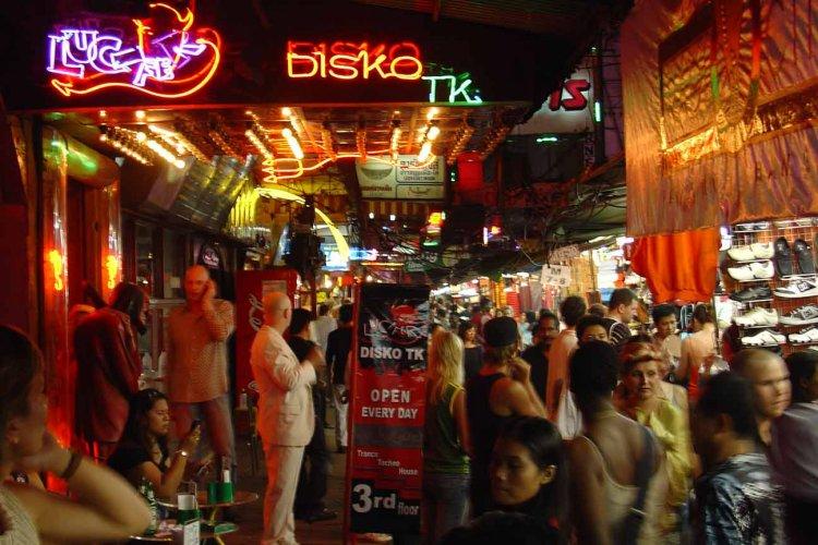 Bangkok sex shows cowboy