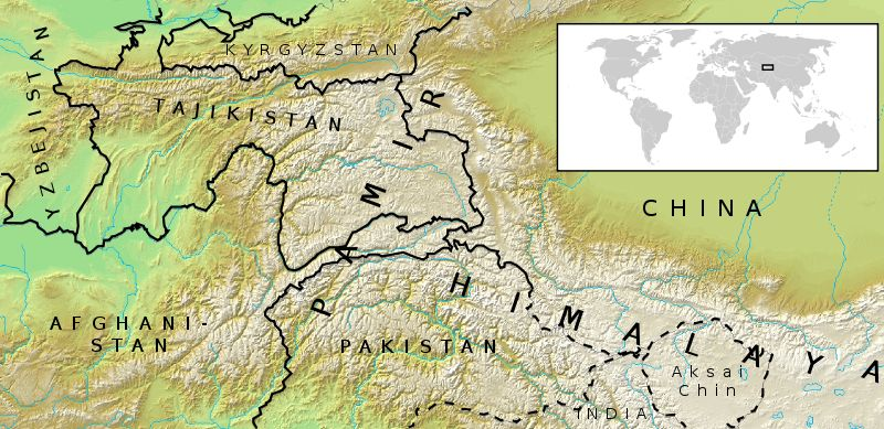Photographs and maps of the fan fann mountains pamiro alai pamir mountains location map gumiabroncs Choice Image